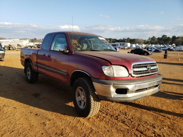 Salvage cars for sale from Copart Longview, TX: 2000 Toyota Tundra ACC