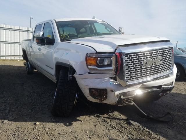 Salvage cars for sale from Copart Sacramento, CA: 2016 GMC Sierra K25