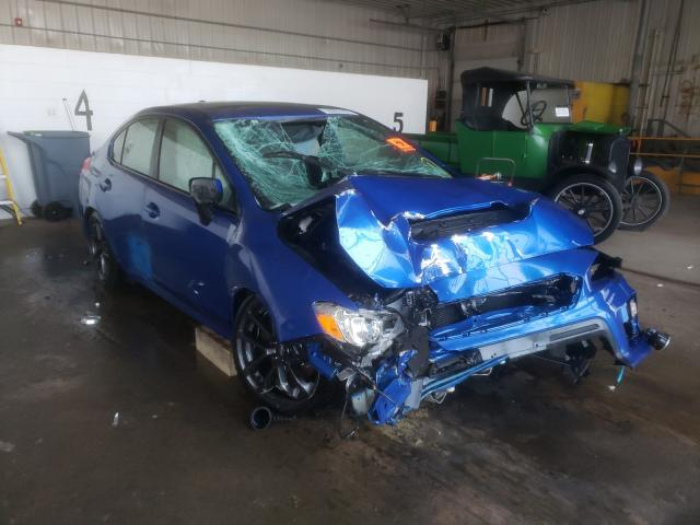 Salvage cars for sale from Copart Candia, NH: 2018 Subaru WRX Premium