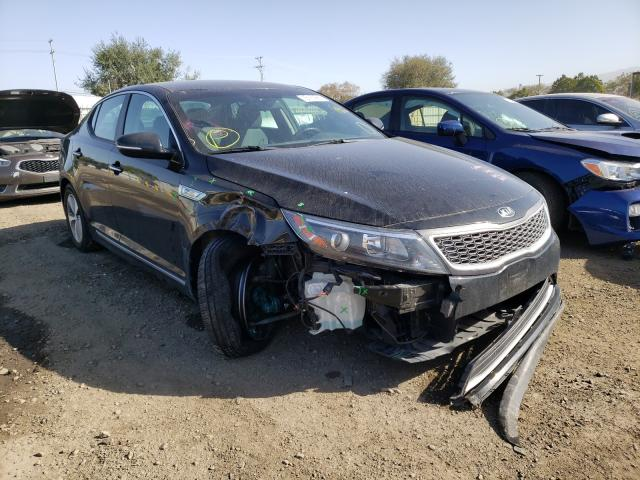 Salvage cars for sale from Copart San Diego, CA: 2015 KIA Optima Hybrid