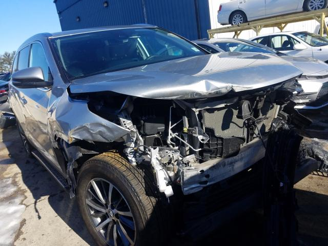 Salvage cars for sale from Copart Windsor, NJ: 2019 Toyota Highlander