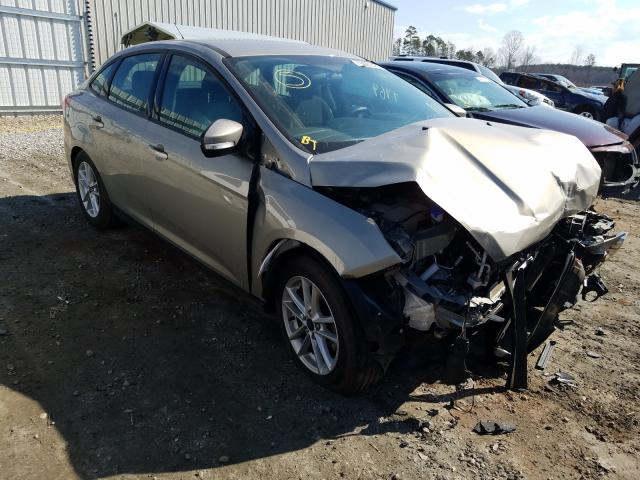 Salvage cars for sale from Copart Spartanburg, SC: 2016 Ford Focus SE