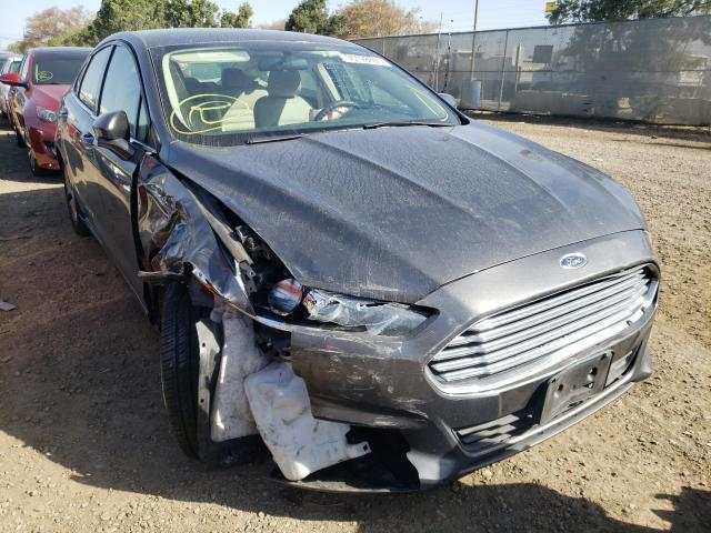 Salvage cars for sale from Copart San Diego, CA: 2015 Ford Fusion SE