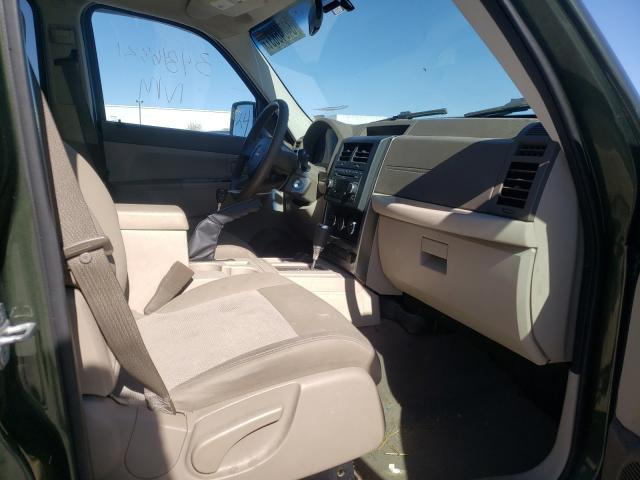 2008 JEEP LIBERTY - Left Rear View
