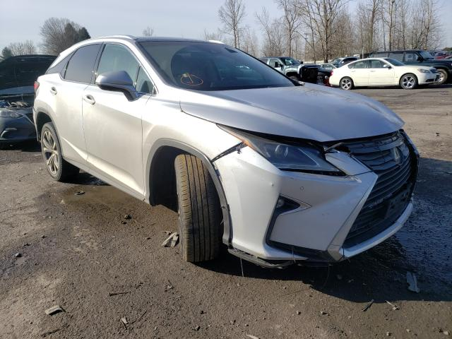 Salvage cars for sale from Copart Portland, OR: 2017 Lexus RX 350 Base