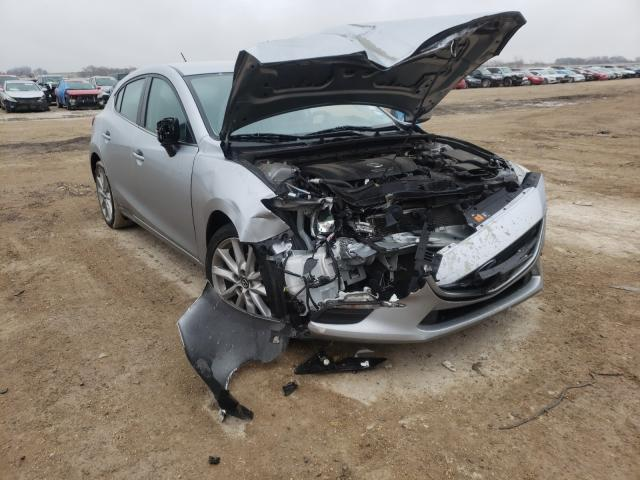 Salvage cars for sale from Copart Temple, TX: 2017 Mazda 3 Touring