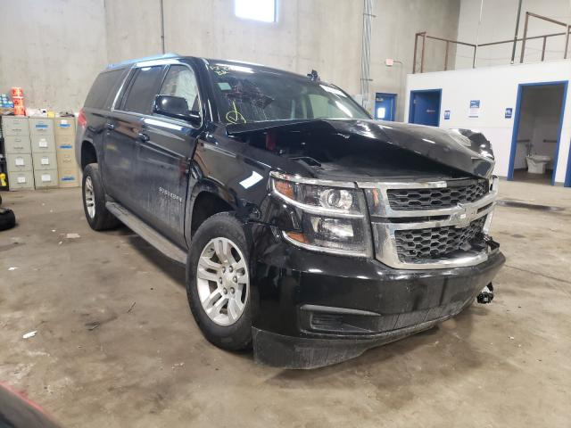 Chevrolet Suburban salvage cars for sale: 2019 Chevrolet Suburban