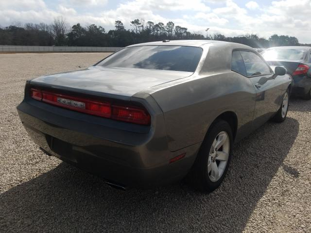 2011 DODGE CHALLENGER - Right Rear View