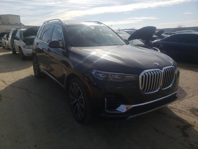 Salvage cars for sale from Copart Tulsa, OK: 2020 BMW X7 XDRIVE4