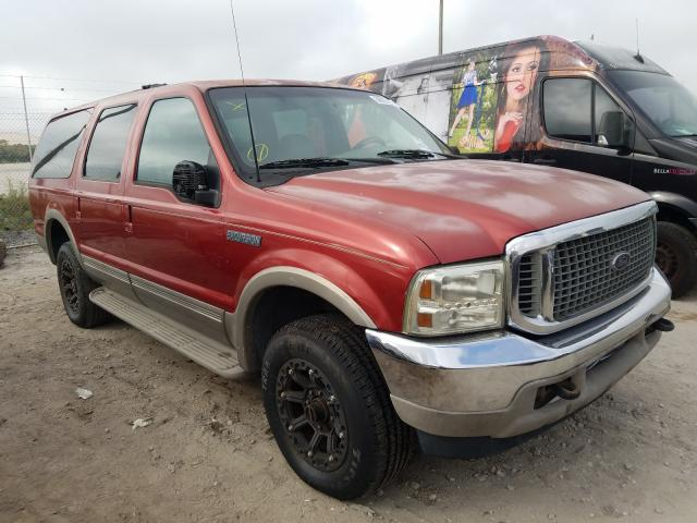 Salvage 2000 FORD EXCURSION - Small image
