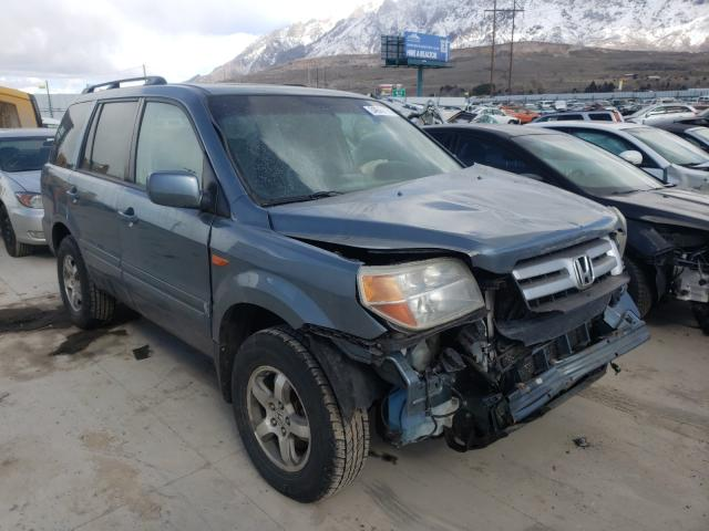 Salvage cars for sale from Copart Farr West, UT: 2007 Honda Pilot EXL