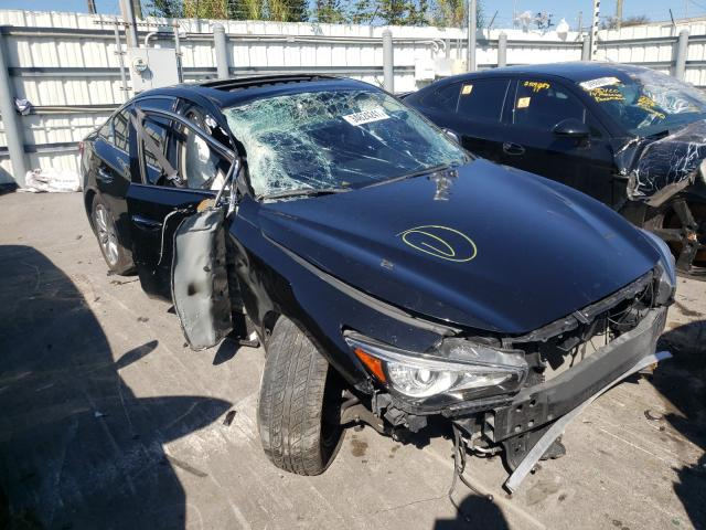 Infiniti salvage cars for sale: 2015 Infiniti Q50 Base