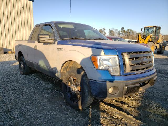 Salvage cars for sale from Copart Spartanburg, SC: 2009 Ford F150 Super