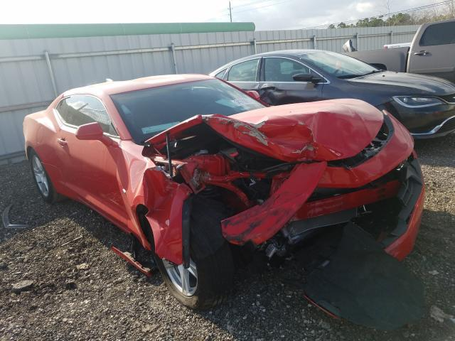 Salvage cars for sale from Copart Houston, TX: 2020 Chevrolet Camaro LS