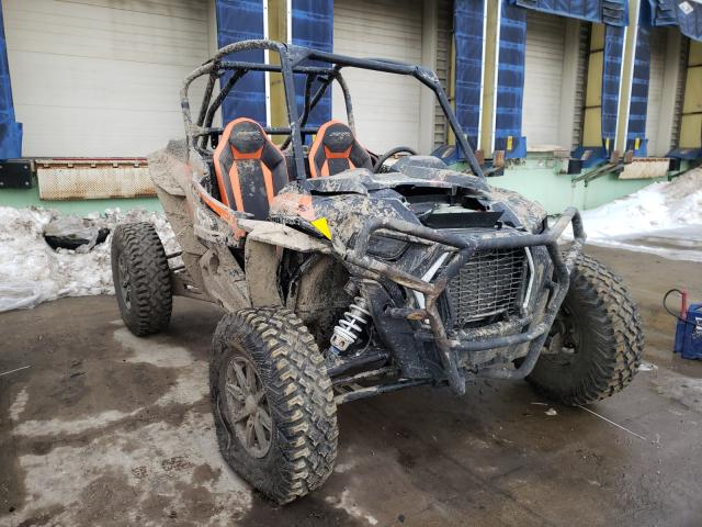 Salvage motorcycles for sale at Columbus, OH auction: 2021 Polaris RZR XP Turbo