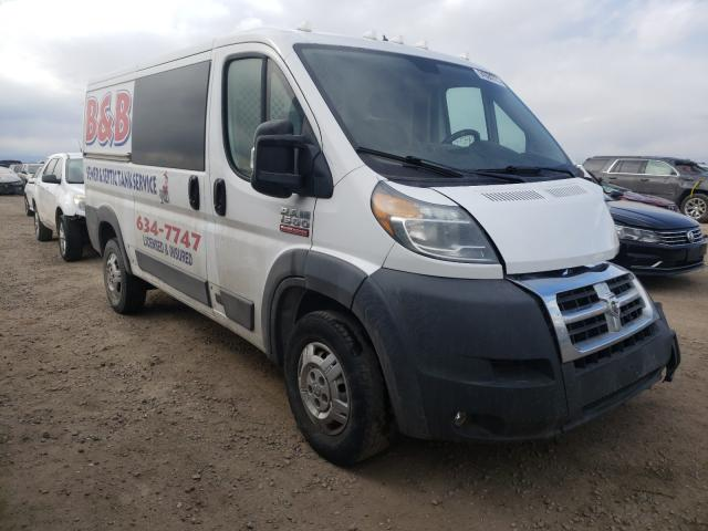 Salvage cars for sale from Copart Brighton, CO: 2017 Dodge RAM Promaster