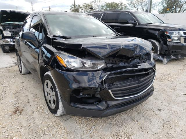 Salvage cars for sale from Copart Homestead, FL: 2017 Chevrolet Trax LS