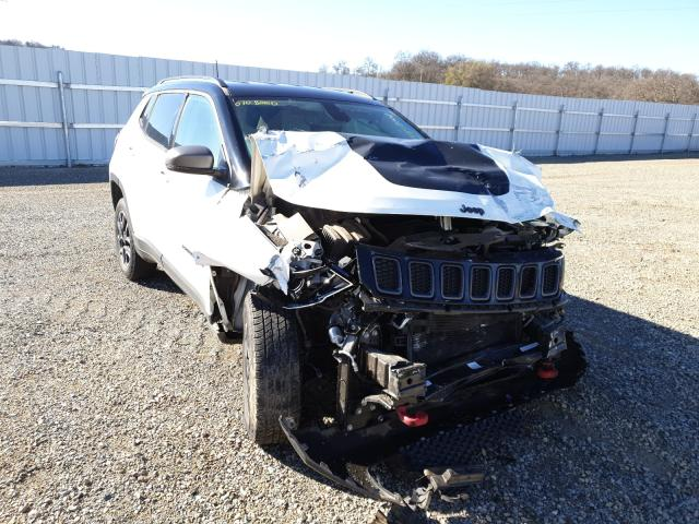 Salvage cars for sale from Copart Anderson, CA: 2019 Jeep Compass TR
