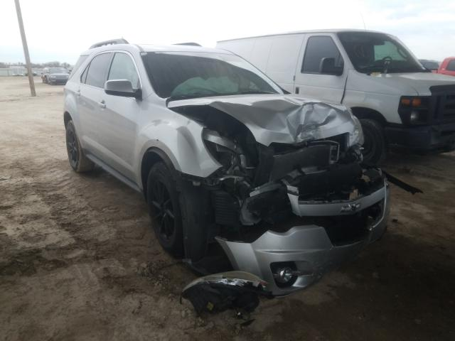 Salvage cars for sale from Copart Temple, TX: 2015 Chevrolet Equinox LT
