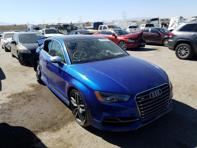 Salvage cars for sale from Copart Tucson, AZ: 2015 Audi S3 Prestige