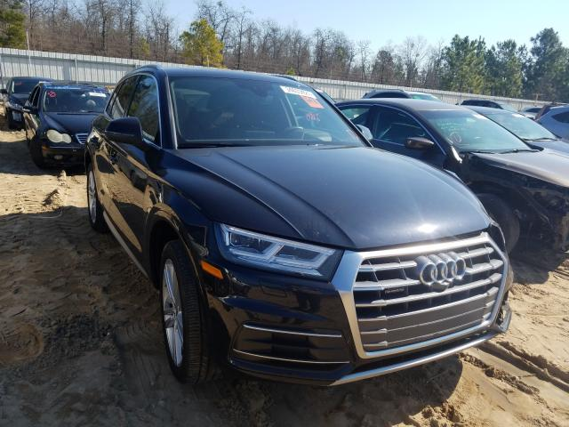 Salvage cars for sale from Copart Gaston, SC: 2018 Audi Q5 Prestige