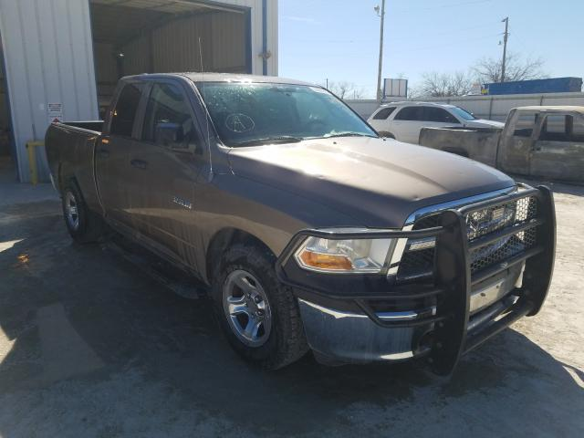 Salvage cars for sale from Copart Abilene, TX: 2010 Dodge RAM 1500