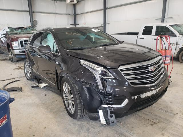 Salvage cars for sale from Copart Greenwood, NE: 2017 Cadillac XT5 Premium