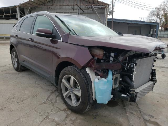 Salvage cars for sale from Copart Corpus Christi, TX: 2019 Ford Edge SEL