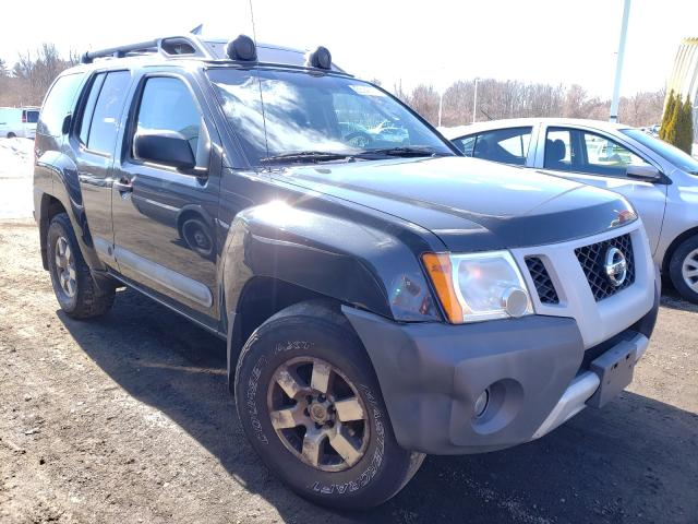 Salvage cars for sale from Copart East Granby, CT: 2011 Nissan Xterra OFF