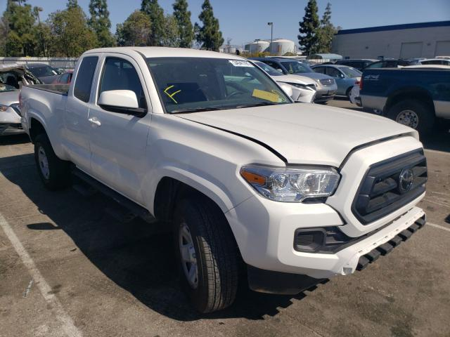 Salvage cars for sale from Copart Rancho Cucamonga, CA: 2021 Toyota Tacoma ACC