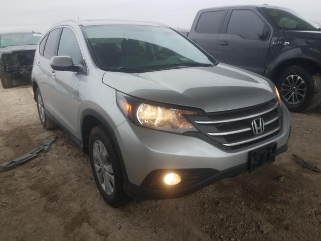 Salvage cars for sale from Copart Temple, TX: 2014 Honda CR-V EXL
