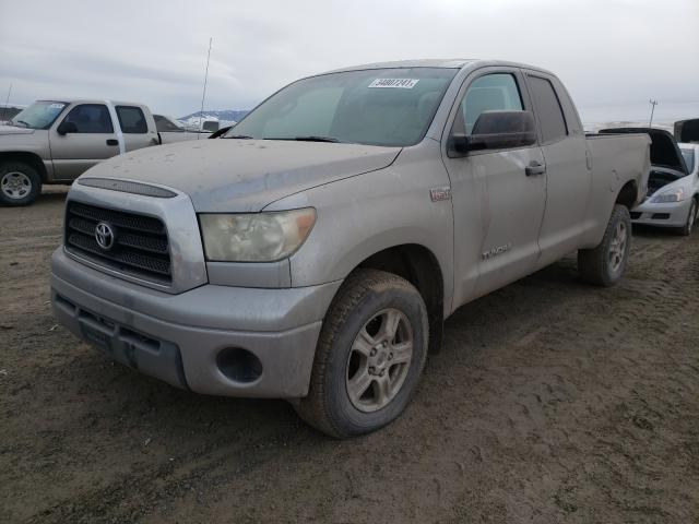 2007 TOYOTA TUNDRA DOU - Left Front View