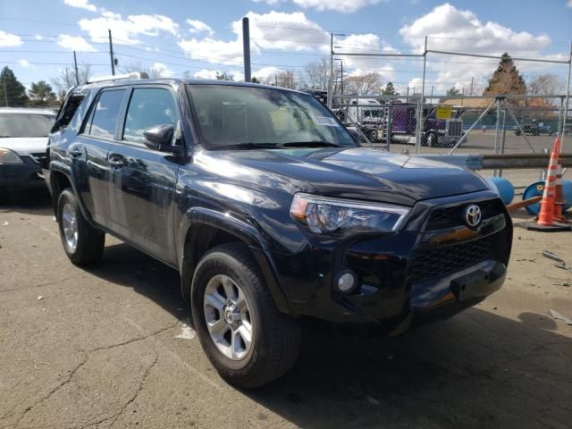 Salvage cars for sale from Copart Brighton, CO: 2019 Toyota 4runner SR