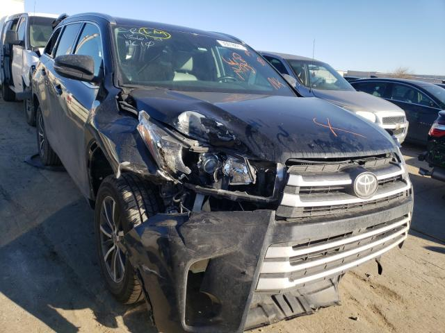 Salvage cars for sale from Copart Tulsa, OK: 2017 Toyota Highlander