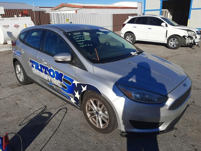 Salvage cars for sale from Copart Las Vegas, NV: 2017 Ford Focus SE