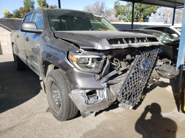 Salvage cars for sale from Copart Colton, CA: 2018 Toyota Tundra CRE