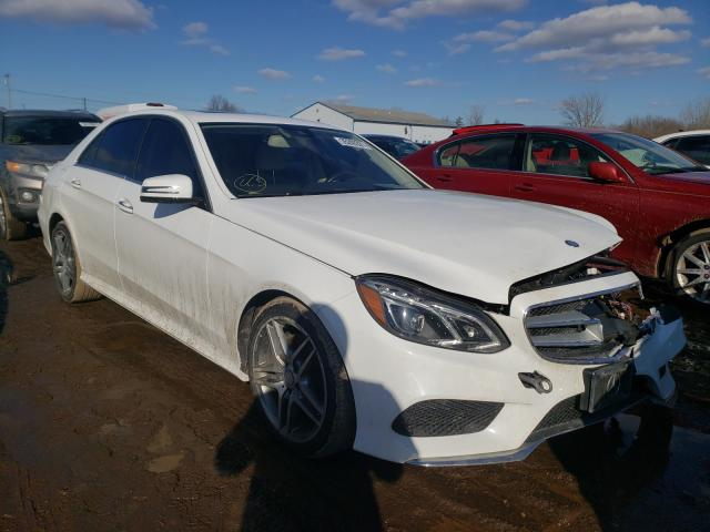 Vehiculos salvage en venta de Copart Columbia Station, OH: 2016 Mercedes-Benz E 350 4matic
