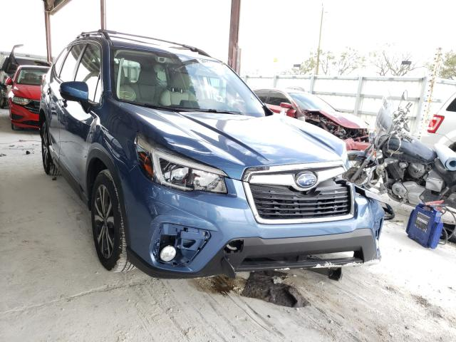 Salvage cars for sale from Copart Homestead, FL: 2021 Subaru Forester L
