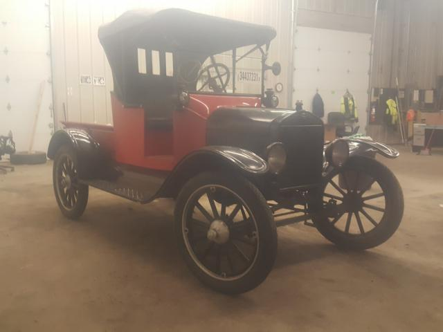 Salvage cars for sale from Copart Candia, NH: 1920 Ford Model T