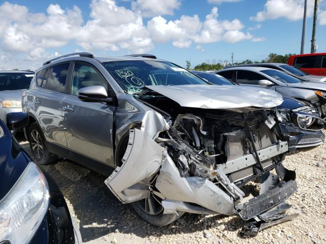 Salvage cars for sale from Copart Homestead, FL: 2018 Toyota Rav4 Adven