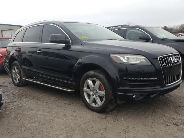 Salvage cars for sale from Copart Hueytown, AL: 2012 Audi Q7 Premium