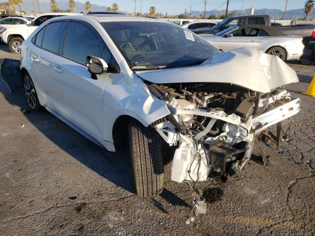 Salvage cars for sale from Copart Colton, CA: 2020 Toyota Corolla SE