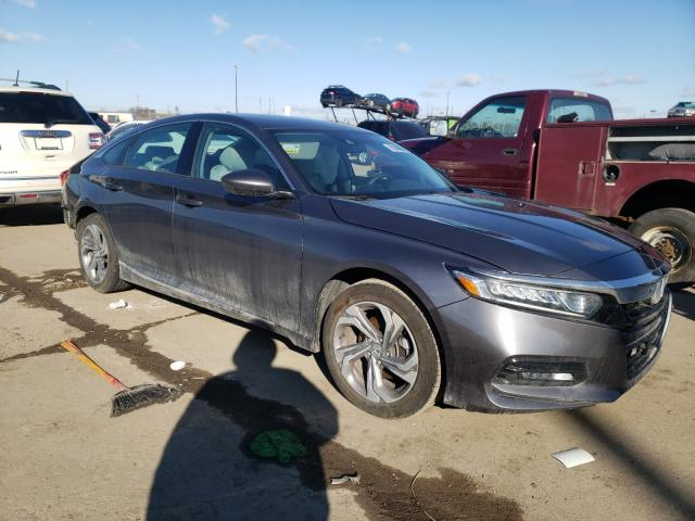 Salvage cars for sale from Copart Woodhaven, MI: 2019 Honda Accord EX