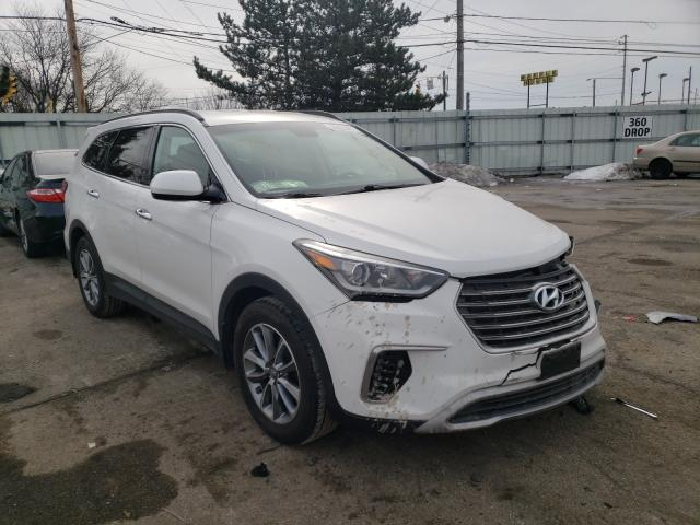 Salvage cars for sale from Copart Moraine, OH: 2018 Hyundai Santa FE S