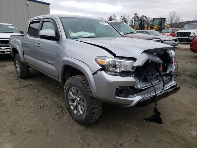 Salvage cars for sale from Copart Spartanburg, SC: 2017 Toyota Tacoma DOU