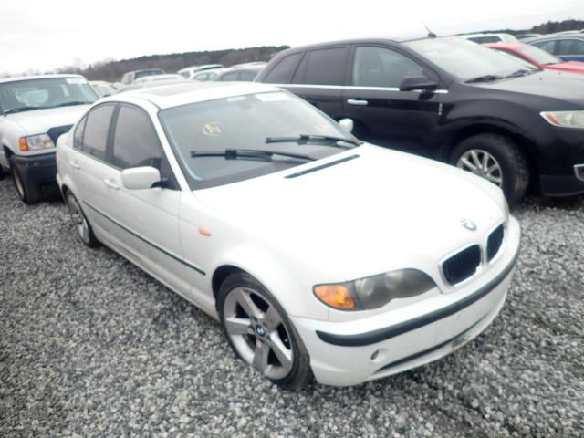 Salvage cars for sale at Spartanburg, SC auction: 2004 BMW 325 I