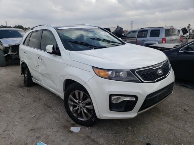 KIA Sorento SX salvage cars for sale: 2012 KIA Sorento SX