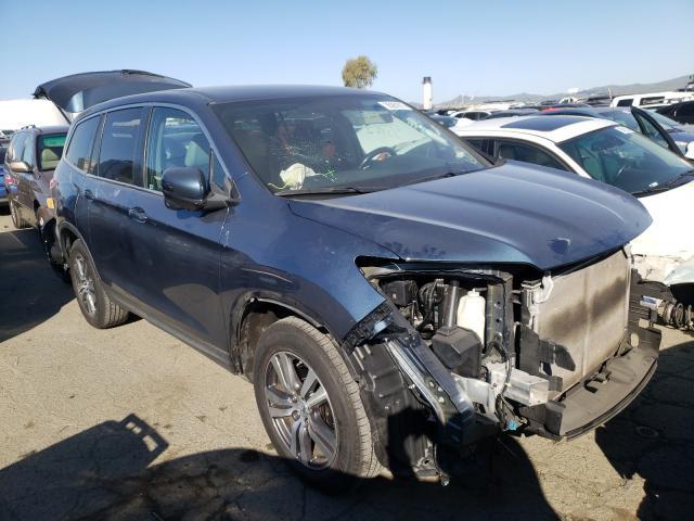 Salvage SUVs for sale at auction: 2016 Honda Pilot EX