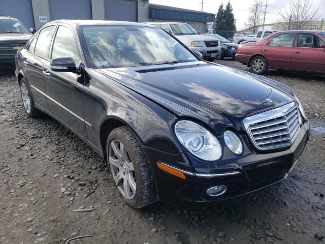 Salvage cars for sale from Copart Eugene, OR: 2007 Mercedes-Benz E 350