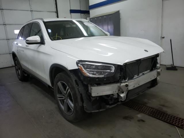 Salvage cars for sale from Copart Pasco, WA: 2020 Mercedes-Benz GLC 300 4M